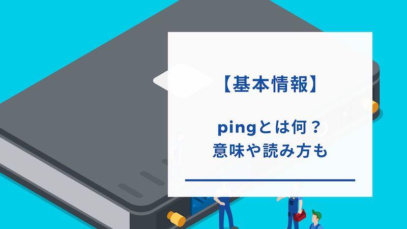 ping値の意味と読み方