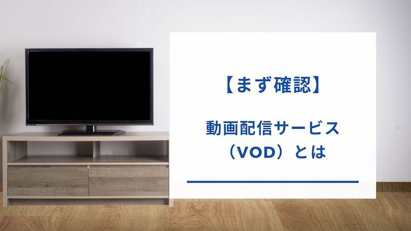 動画配信サービス(VOD)とは